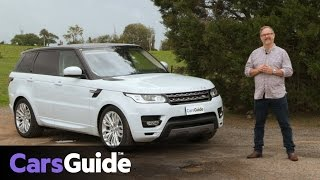 Land Rover Range Rover Sport SE TDV6 2017 review | road test video