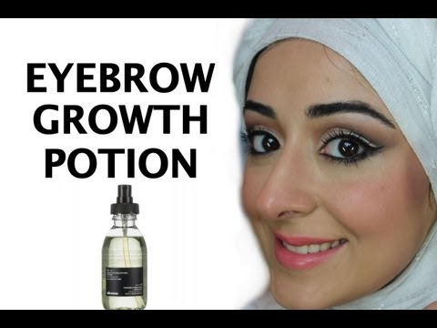 Eyebrow Growth Potion - How To Grow Back Your Eyebrows video