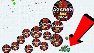 Agar.io Best Team Take Over Fails/Wins Agar.io Mobile Best Moments Gameplay
