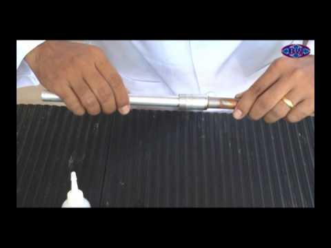 Soldar tubo de aluminio com tubos de cobre youtube for Como soldar cobre