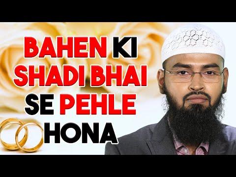 Funny - Kya Bahan Ki Shadi Bhai Se Pehle Hona Zaroori Hai By Adv. Faiz Syed video