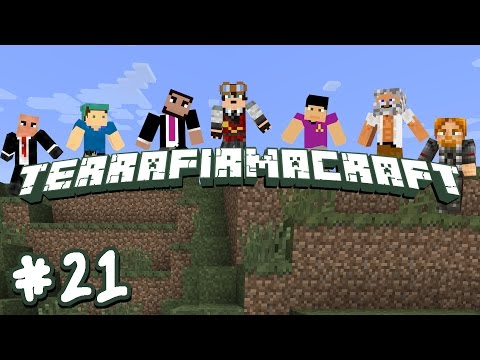 Terrafirmacraft Co-Op - E21 (You Should Probably Stop Digging)