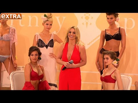 The Intimate Britney Spears: Watch Her Lingerie Collection's Show at NY Fashion Week!
