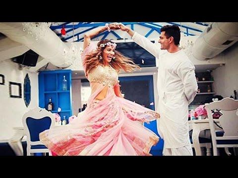 (Video) Bipasha Basu & Karan DANCES At Mehendi Ceremony