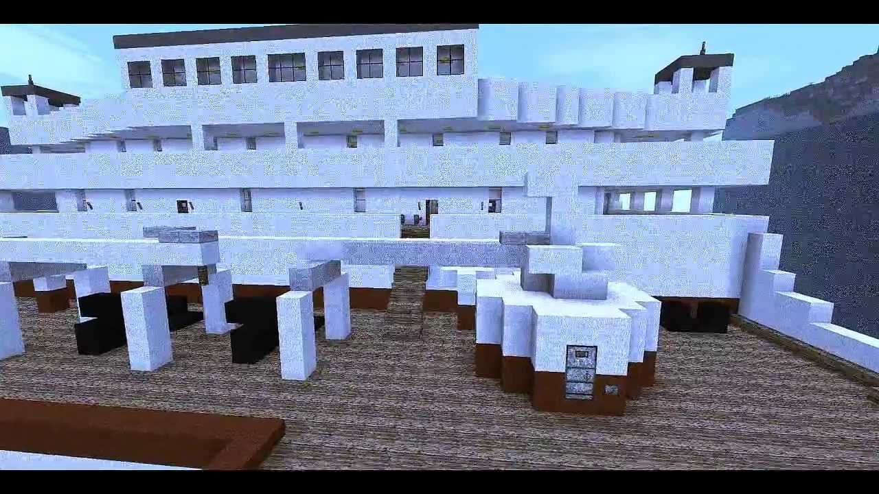 minecraft - the rms titanic - 2nd version  abandoned  see description