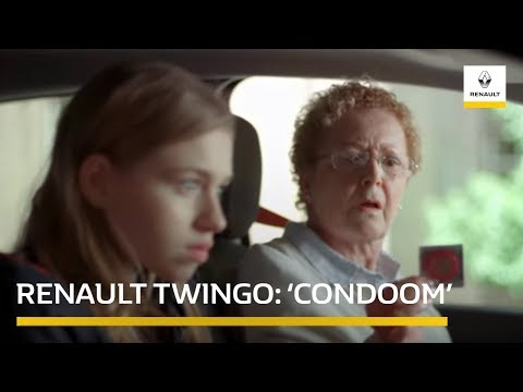 "Renault Twingo ""Condoom"" (Commercial)"