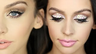 2 Sparkly New Years Eve Makeup Looks!