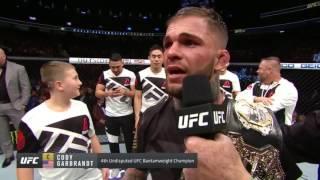 UFC 207: Cody Garbrandt Octagon Interview