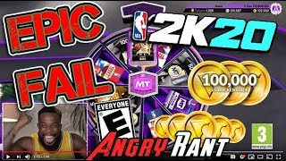 NBA2k20 is a Gambling Casino! - Angry Rant!