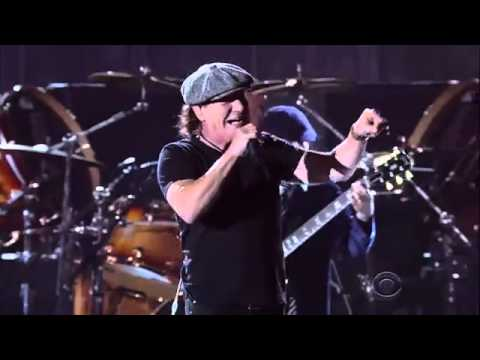 ACDC LIVE GRAMMY AWARDS 2015 perform ROCK OR BUST