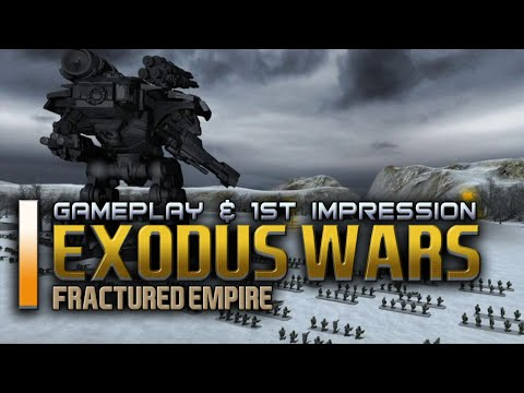 Exodus Wars Fractured Empire - Nice New Turn Based War Strategy (Gameplay & 1st Impression)