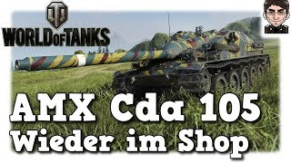 World of Tanks - AMX Cda 105, wieder im Shop [deutsch | gameplay]