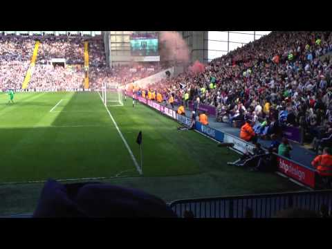 United Fans at West Brom