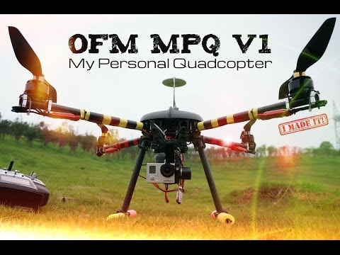 Your Personal Drone - OFM MPQ V1 Pro Aerial Filming Quadcopter