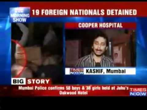 Rave Party Busted In Mumbai, 38 Girls Detained - Video   The Times Of India.mp4 video