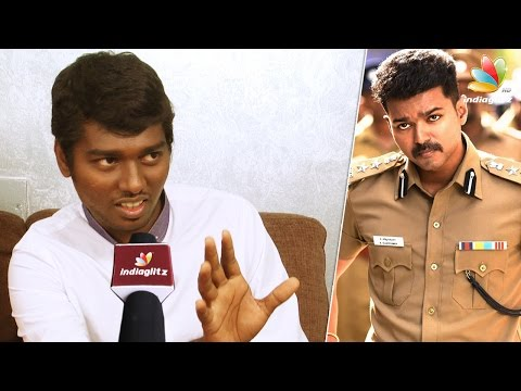Atlee opens up about second film with Vijay   Theri Interview   Part 2