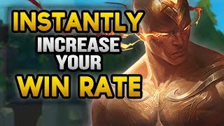 Increase Your WINRATE INSTANTLY with ANY Champion (League of Legends)