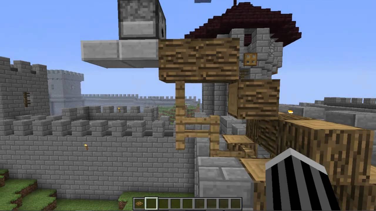 Minecraft un chateau incroyable visite guidee - Chateau de minecraft ...