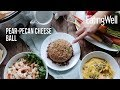 How To Make a Healthy Pear-Pecan Cheese Ball