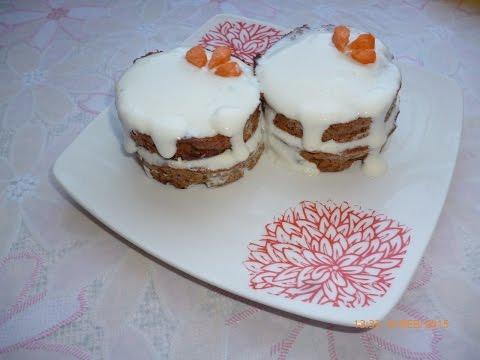 Морковное пирожное. Полезный диетический рецепт