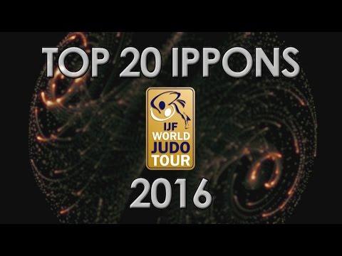 TOP 20 IPPONS  - WORLD JUDO TOUR 2016