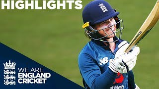 Beaumont Hits 105 To Secure Series | England Women v South Africa 3rd ODI 2018 - Highlights