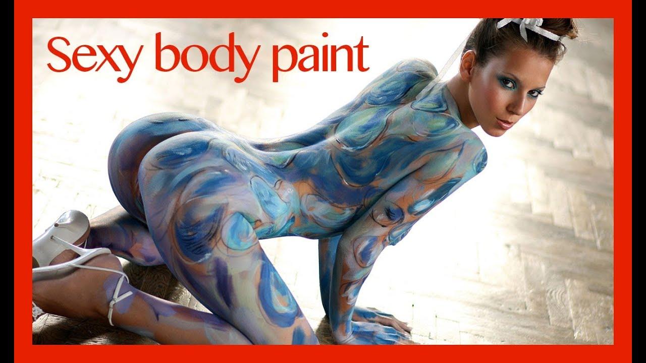 ☀☀ Crazy Sexy Body Paint Girls ☀☀ - YouTube