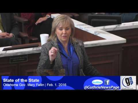 Gov. Mary Fallin: State of the State 2016