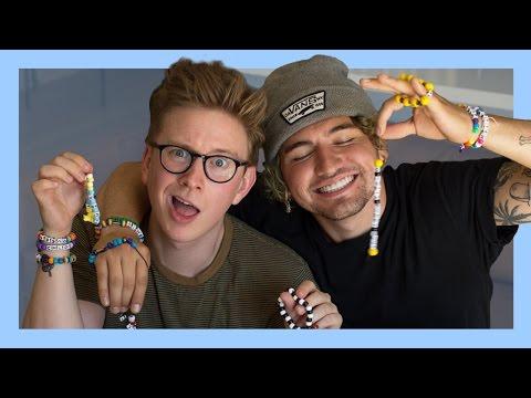 Making Friendship Bracelets (ft. Jc Caylen)   Tyler Oakley thumbnail