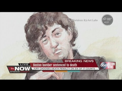 Jury in Boston Marathon bomber trial sentences Dzhokhar Tsarnaev to death