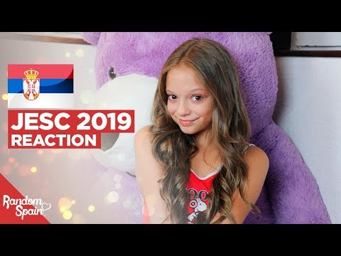 REACTION Darija Vračević - Raise Your Voice | Serbia Junior Eurovision 2019