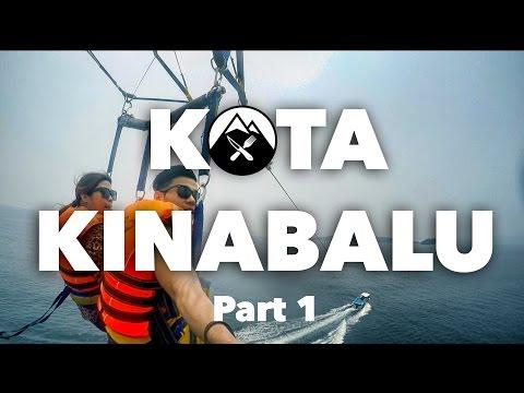 Kota Kinabalu, Sabah Malaysia - Takaw Travels | Vlog #1