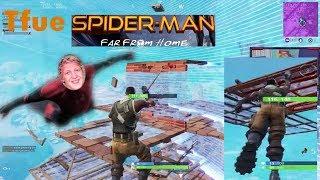 Tfue Imitate Spider-man In Fortnite - Fortnite Epic Fails & clips! #24