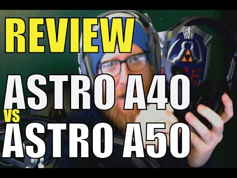 Astro A40 vs. A50 - Which should you buy?