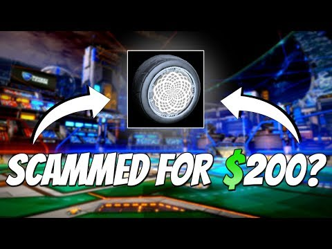 RISKING WHITE ZOMBAS WITH A SCAMMER! ($200) + Competitive 2v2 Gameplay | Rocket League Trading