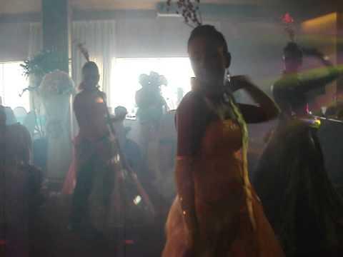 Sri Suba Mangalam - Wedding Dance Senorita Hindi Spanish Song Performed by girls.