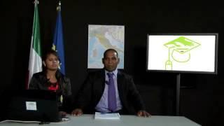 Italian course for Srilankan  immigrants.  Lesson 1 Sinhala