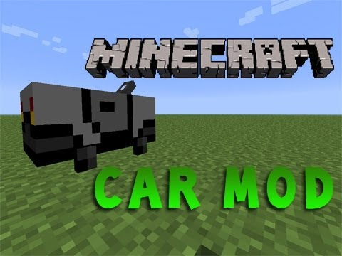 how to make a car in minecraft no mods