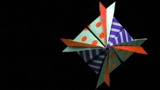 Origami 'polo Sur' Star -estrella Polo Sur