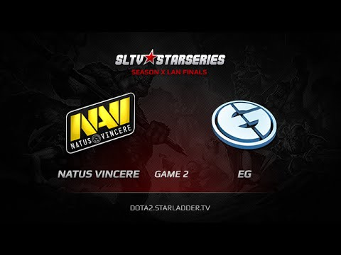 Na`Vi vs EG, SLTV StarSeries X Finals, Day 2, WB Game 2