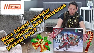Wera 05136600001 Advent Calendar 2019 unboxing and review