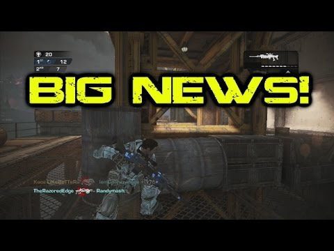 HUGE NEWS! Master at Arms (Gears of War Judgment)