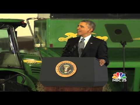 President Obama signs farm bill at MSU