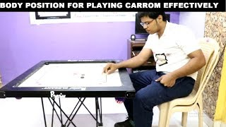 Body Position Technique In Carrom And Its Rules