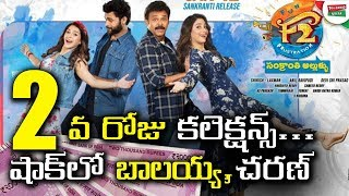 F2 Fun And Frustration 2nd Day Box Office Collection | F2 Movie Beats #VVR & #NTR Movie Collections