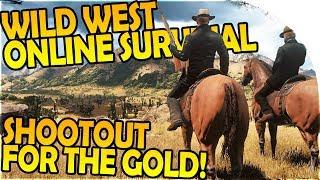 WILD WEST ONLINE SURVIVAL OPEN-WORLD GAME - SHOOTOUT FOR THE GOLD - Wild West Online Alpha Gameplay