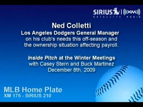 Ned Colletti, LAD GM, on the Dodgers' needs at the meetings and his payroll - Sirius|XM