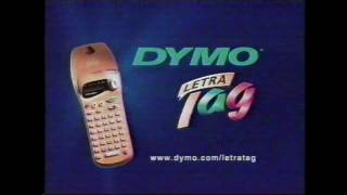 Dymo Letra Tag commercial (1999)