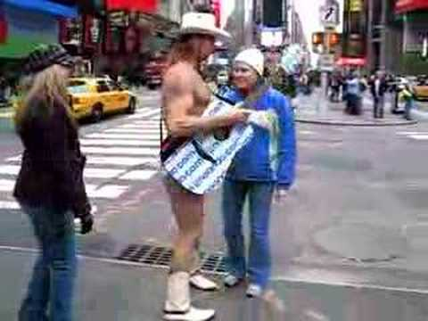 Naked Cowboy, Breann, Angela Video