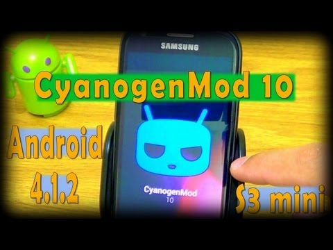 ROM CyanogenMod 10 Samsung Galaxy S3 mini [Review]